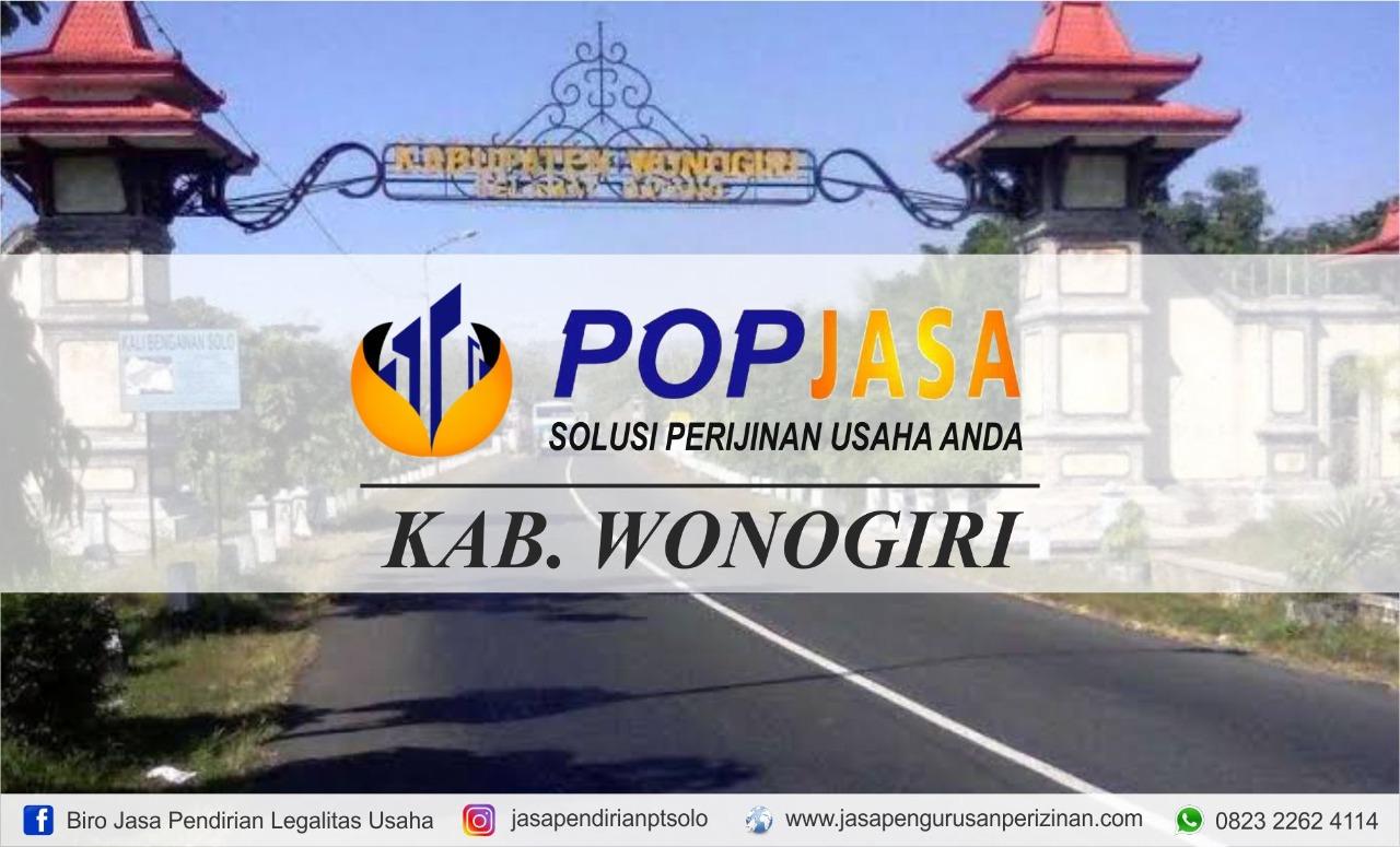 Jasa Pengurusan UD Wonogiri